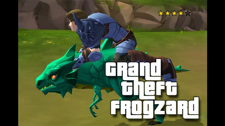 Grand Theft Frogzard
