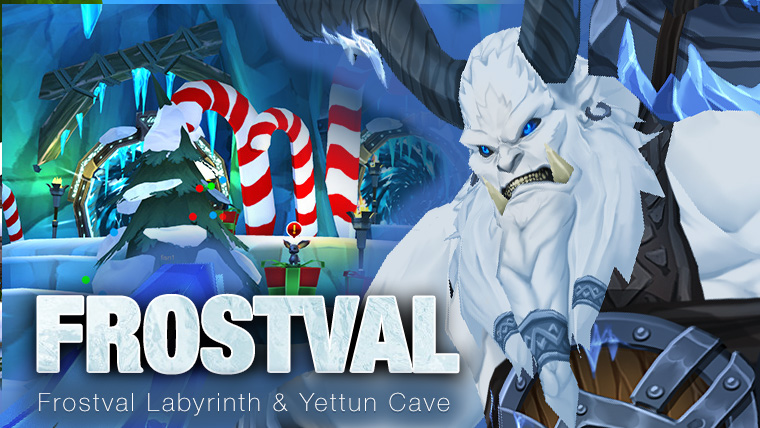 Frostval winter holiday in AdventureQuest 3D