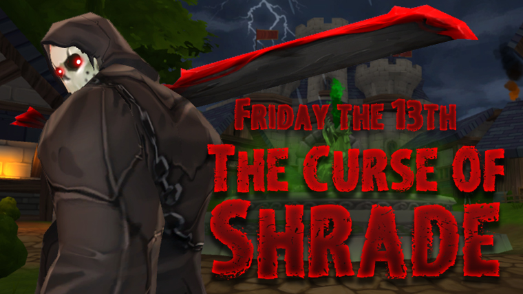 AQ3D Shrade Curse Friday 13th