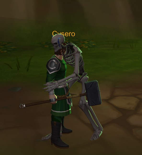 AQ3D Skeleton Hugs Cysero