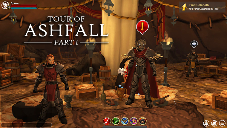 Tour of Ashfall, Part I