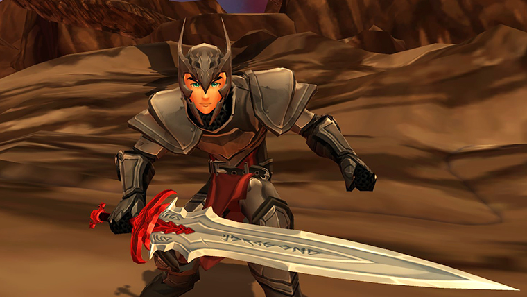 AQ3D Fallen DragonSlayer