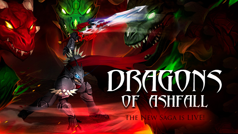 Dragons of Ashfall is live!