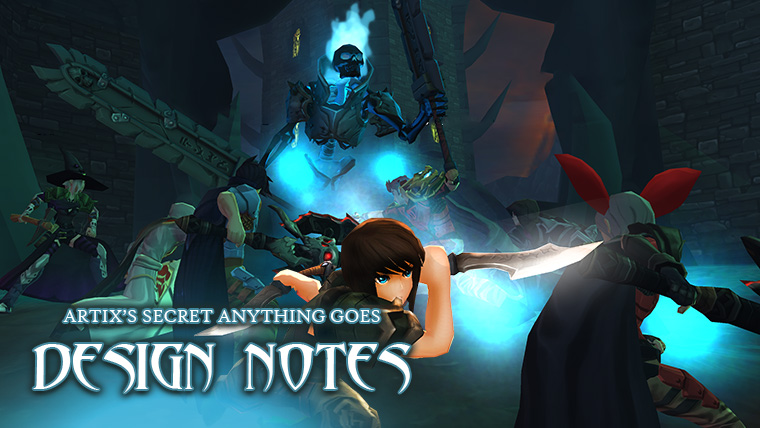 Artix's Secret Anything Goes Design Notes