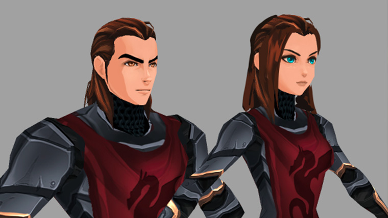 New Adventurequest 3D Faces