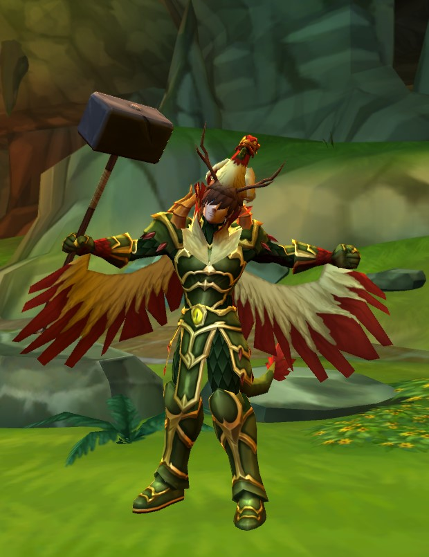 AQ3D Dricken Feathers