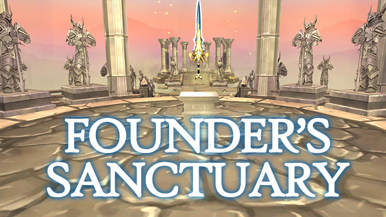 Founder's Sanctuary Is Live