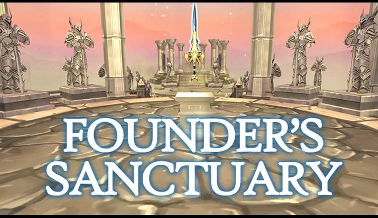 Founder's Sanctuary Is Live - Adventure Quest 3D, Cross