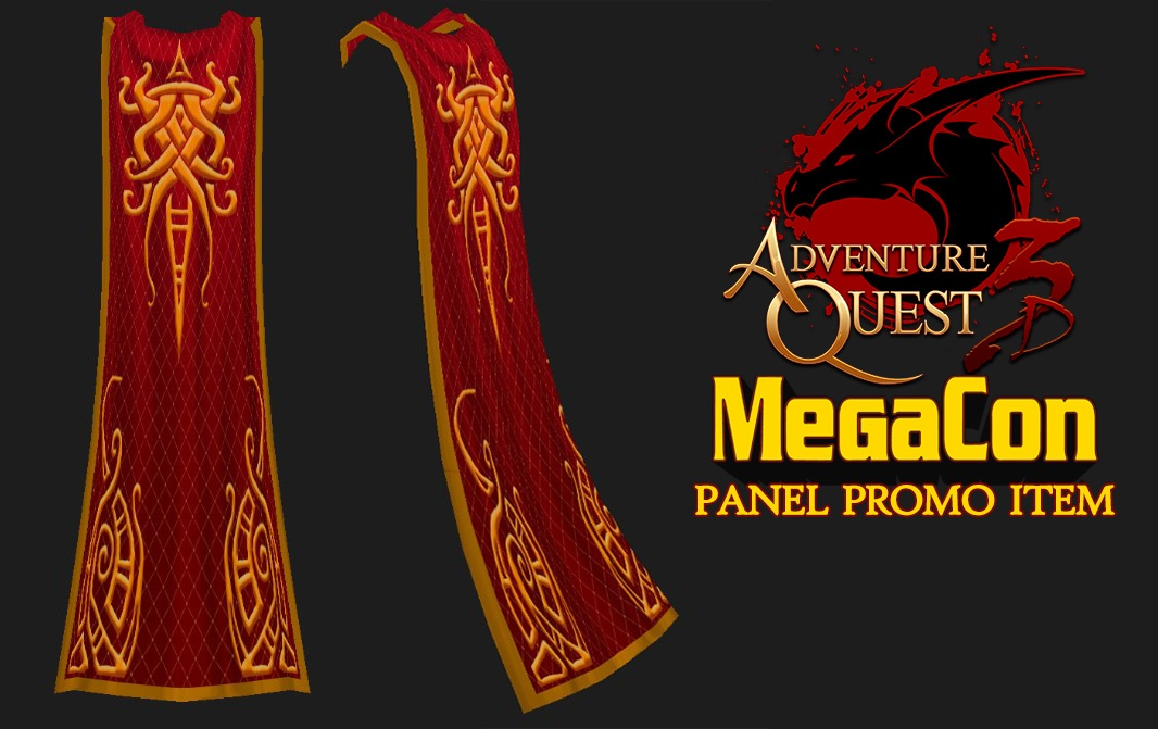 MegaCon promo cape