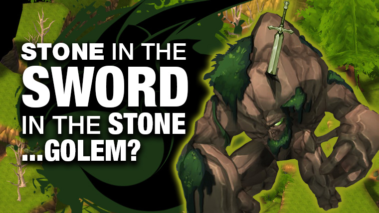 Stone in the Sword in the Stone Golem