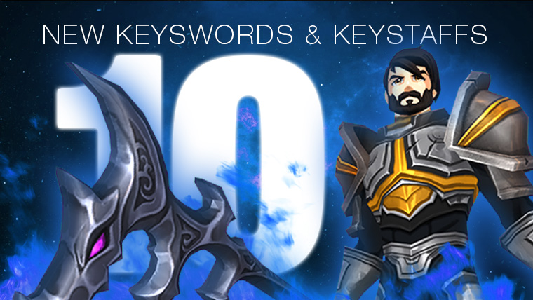 10 New Keyswords & Keyblades just added!