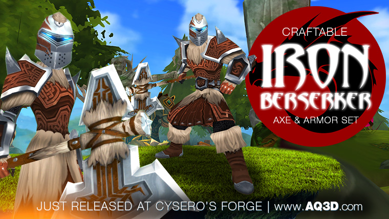 Iron Berserker set just released!