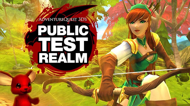 PTR = Public Test Realm - Adventure Quest 3D, Cross Platform