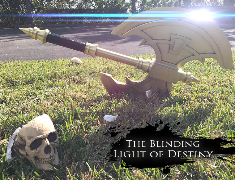 The Blinding LIght of Destiny vs Skull