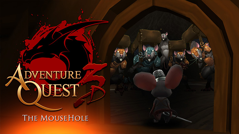 The Mouse Hole in AdventureQuest 3D