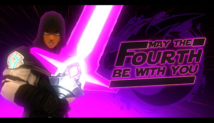 May the Fourth Be With you - Purple