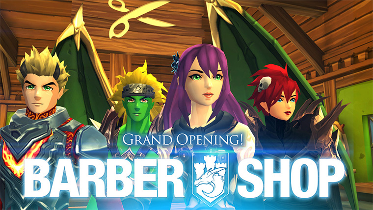 Grand opening: Barber Shop!