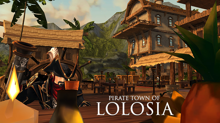 Pirate town of Lolosia