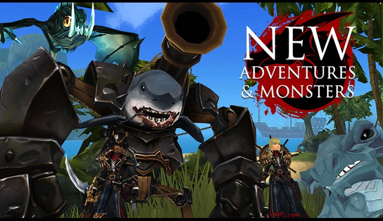 New Sea Monsters and Adventures