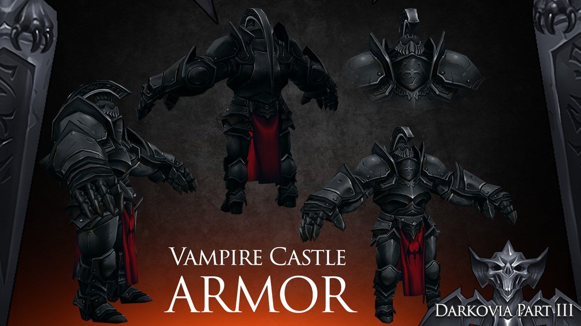 Vampire Castle Armor Adventure Quest 3d Cross Platform