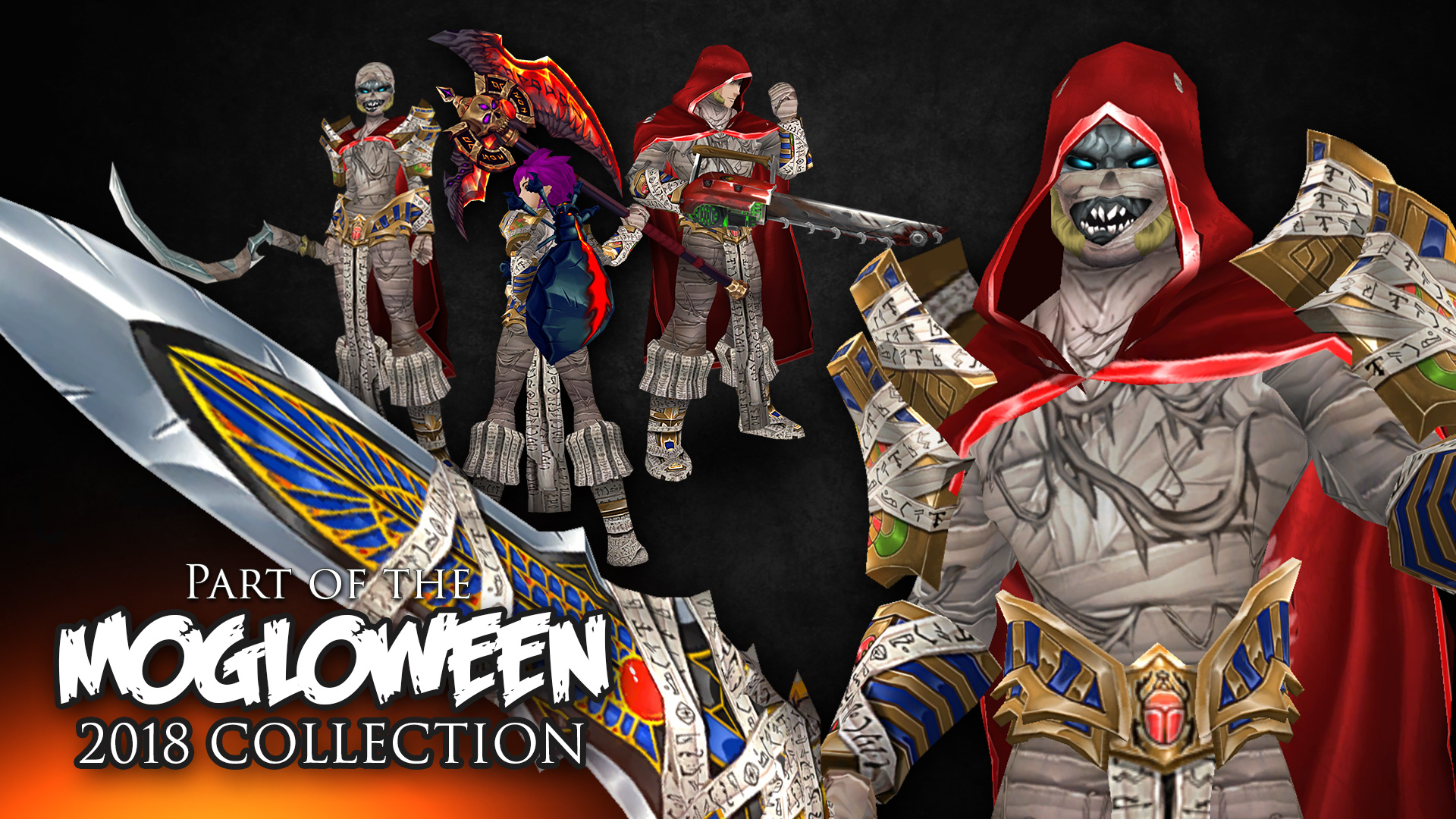 Mogloween collection 2018 armors
