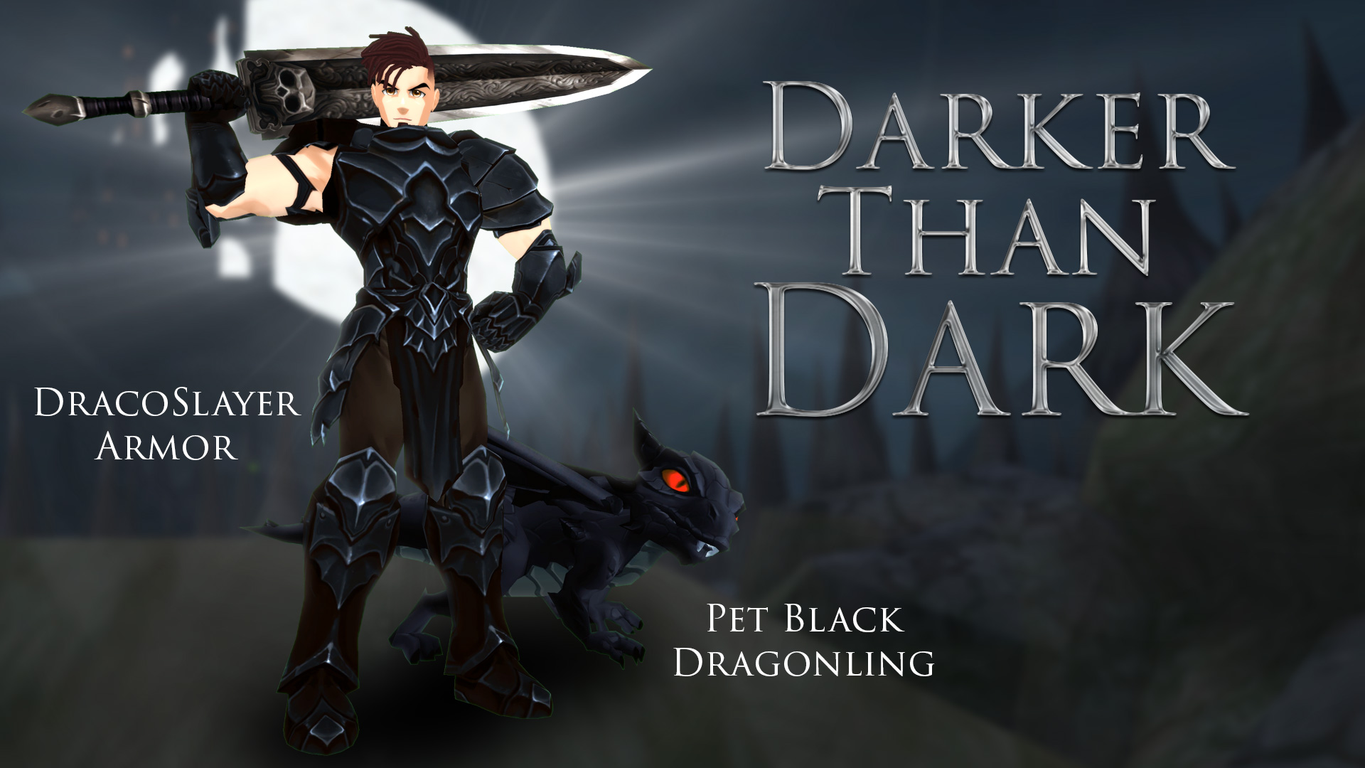 Dracoslayer Armor and Pet Black Dragonling