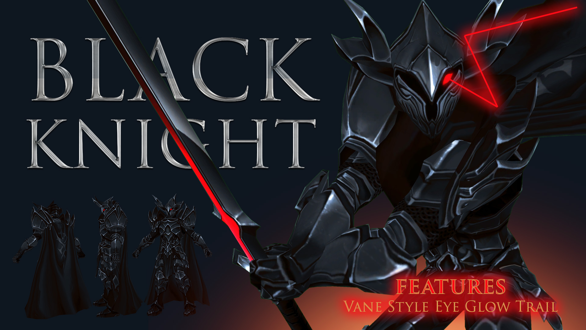 Black Knight in AdventureQuest 3D