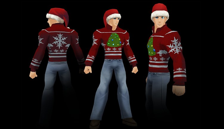 Uggly Holidya Sweater Game