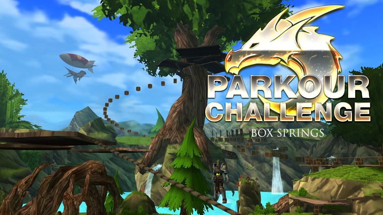 Box Springs Parkour Challenge - Adventure Quest 3D, Cross Platform MMORPG