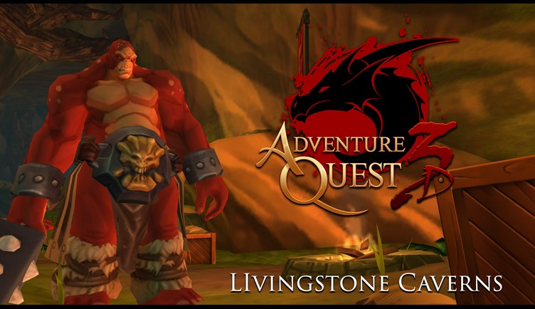 AdventureQuest 3D's LivingStone Caverns revamped