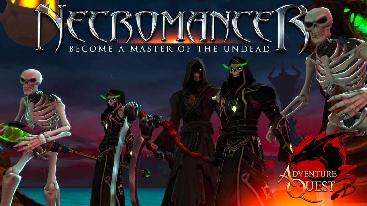 Necromancer Class - now live for all players to earn