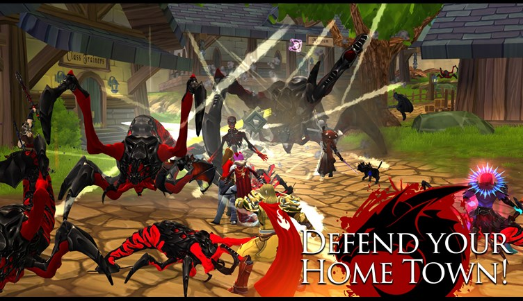 Defend the town of Battleon
