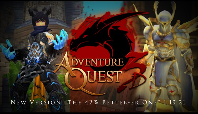 AdventureQuest 1.19.21 is LIVE!