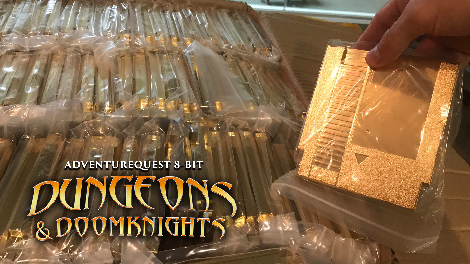 Gold carts for dungeons and doomknights arrived
