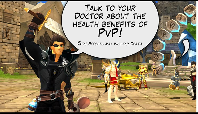 Talk to your doctor about PvP