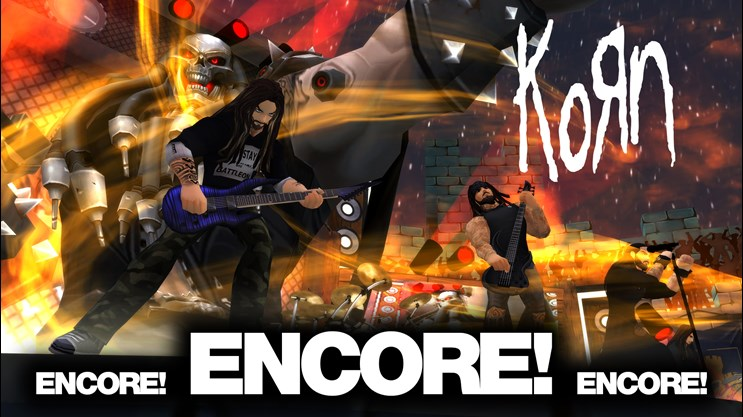 Korn_Encore_new_song_cold