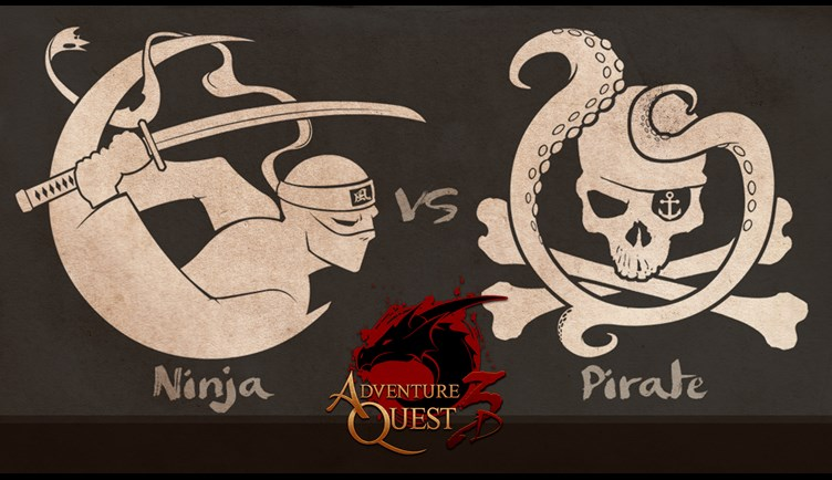 Friday the 13th Pirates vs Ninjas