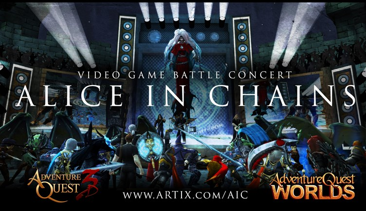 Play the Alice in Chains Battle Concert