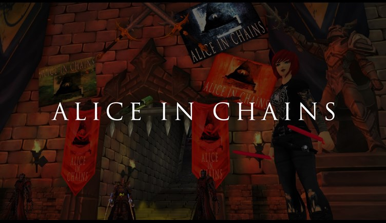 Alice in Chains in a video game