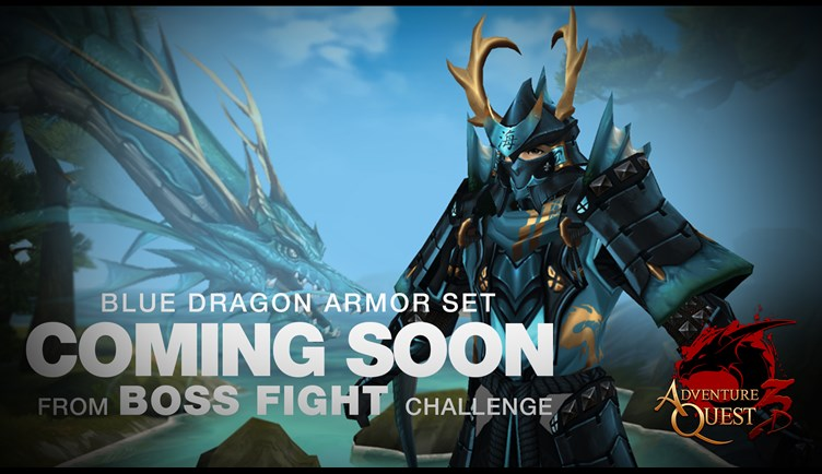 Water Dragon Samurai Armor coming next week