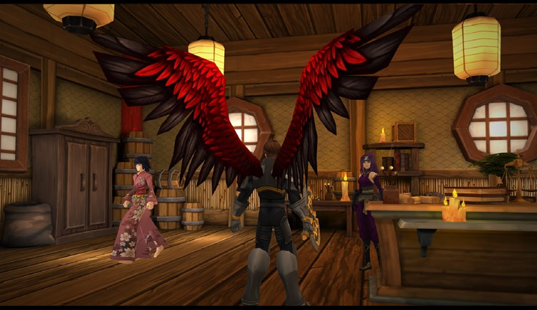 Animated Wings in AdventureQuest 3D