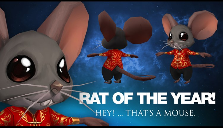 2020 Rat of the Year!