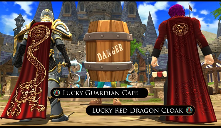 Lunar New Year Capes