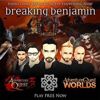 Breaking Benjamin Concert is Back!