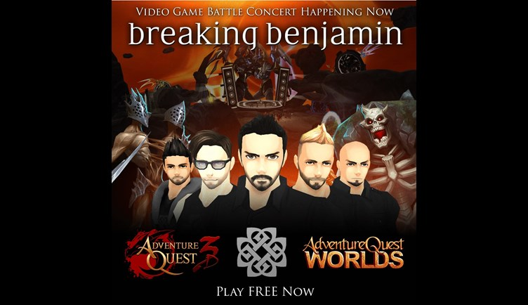 Breaking Benjamin Battle Concert