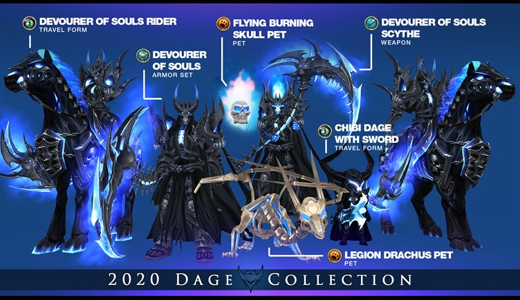 Dage Collection 2020 Adventure Quest 3d Cross Platform Mmorpg
