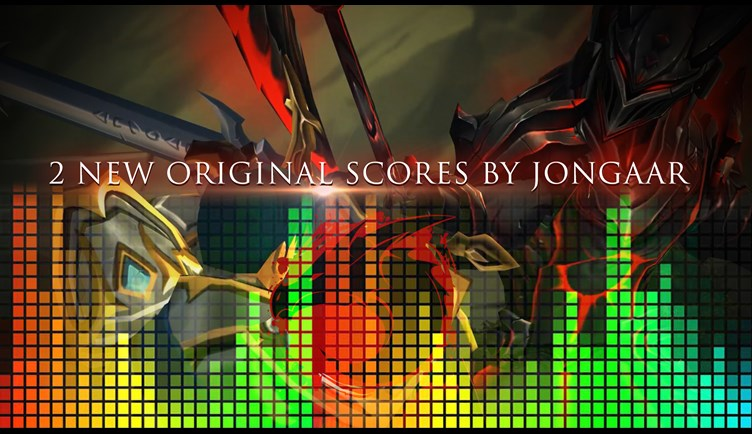 2 new music scores by Jongaar
