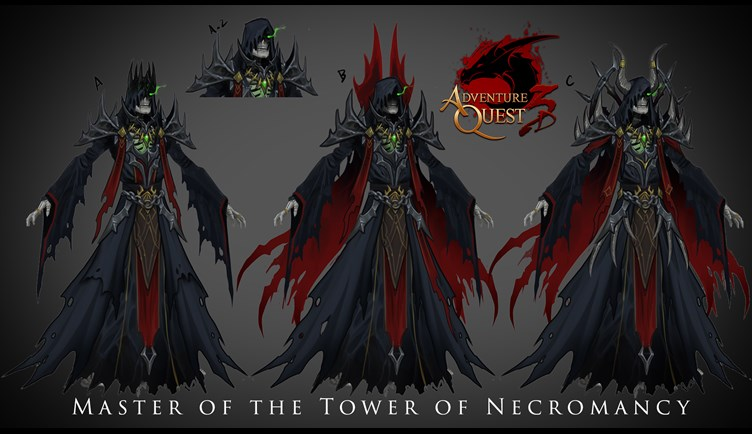 Lich concept art fort he Tower of Necromancy