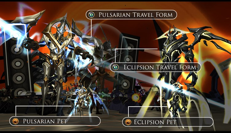 Pulsarian Travel form and Pet