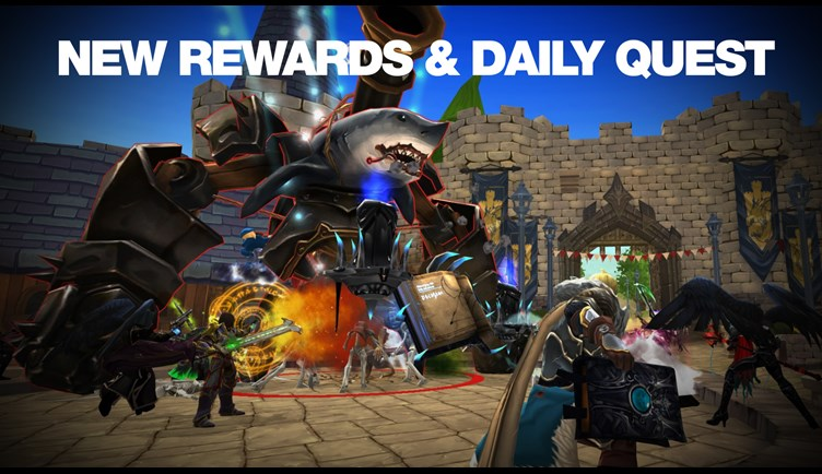 Ew Rewards & Daily Quest in the Social District